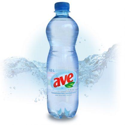 AVE szénsavas ásványvíz 0.5l