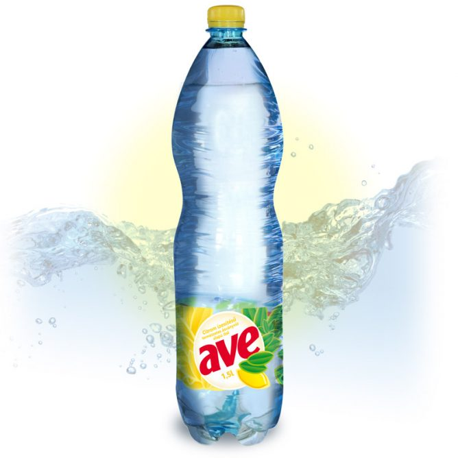 AVE citromos ásványvíz 1.5l