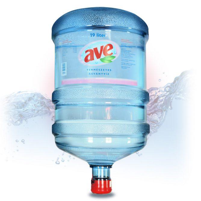 AVE szénsavmentes ásványvíz 19l