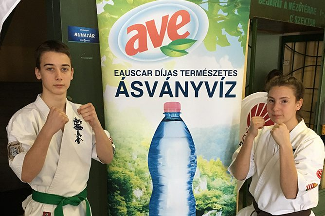 A Karate Diákolimpia debreceni versenyének egyik főszponzora volt az AVE!