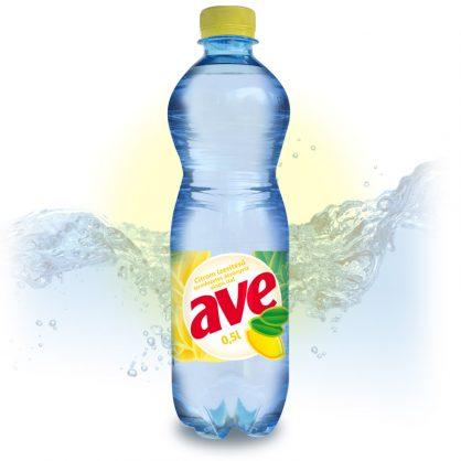 AVE citromos ásványvíz 0.5l