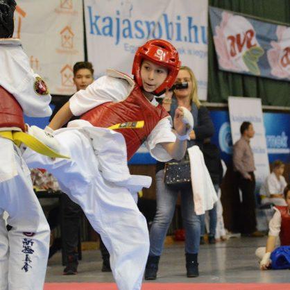 Ismét a Karate Diákolimpia debreceni versenyének szponzora volt az AVE!